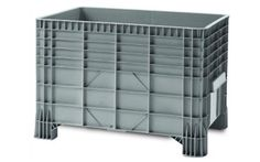 Buy Solid Sided Plastic Pallet Boxes & Geobox Online - Storage Construction