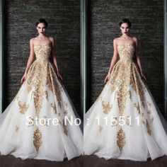 2014 Handmade lace applique long length sweetheart puffy gown corset a-line custom made white organza new formal lady dresses $179.00