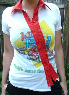 upcycled tshirt idea