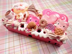 Deluxe Coffee and Donuts Hello Kitty Kawaii Decoden by Lucifurious, $52.00