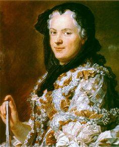 QUENTIN DE LA TOUR Marie Leczinska, reine de France (exposé au Salon de 1748) Paris, Musée du Louvre