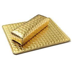Soft Hand Cushion Pillow And Pad Rest Nail Art Arm Rest Holder Manicure Nail Art Accessories PU Leather Golden