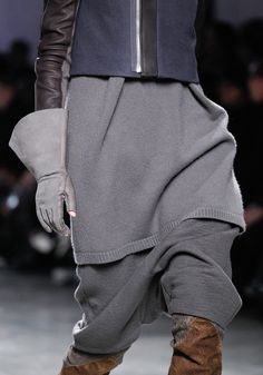 rick owens. layers, textures, colours, structure, everything.