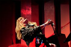 Toyah Willcox live at The 100 Club London, with THE HUMANS Telling Strange Tales Tour 18.4.2015 * * * Toyah Willcox live at The 100 Club London, with THE HUMANS Telling Strange Tales Tour 18.4.2015 * * * Photo used with kind permission from © Mark Evans