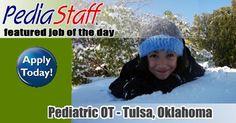Hot Job! Pediatric Clinic OT – Tulsa, Oklahoma