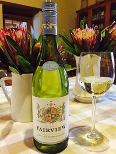 We bottled our Chenin Blanc 2015 from our vineyards in Darling today! Cheers to a good vintage! #OurDarlingCheninBlanc #FairviewWine #FairviewPaarl #CheninBlanc #Darling #Cheers #Vintage