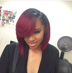 Ombre Hairstyles for Black Women (4)