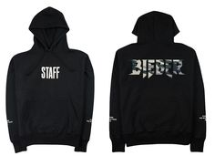 STAFF Purpose Tour Camo - Black Hoodie