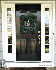 My summer home tour  @snazzylittlethings #diy #hometour #frontdoor paint by /rustoleum/