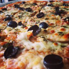 homemade #magarita #pizza