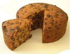 A light fruitcake recipe, filled with moist and delicious fruit.