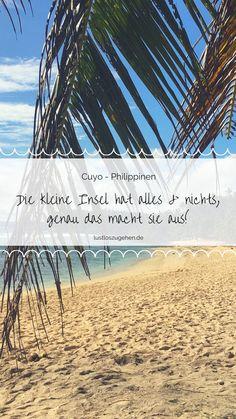 20.11.2019 - Die noch sehr authentische kleine Insel ist die Hauptinsel des Cuyo-Archipel und gehört zur Provinz Palawan auf den Philippinen. Cuyo zählt mit noch zu einem Geheimtipp unter den Kitesurfern
