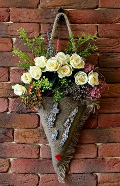Wreath Summer Decorations Summer Rose Wreath Room Decoration Basket Gift For Her Year Round Wreath Basket Spring Roses Room Decoration Wall / Picture Box PhotoThis post was discovered by Ма Summer Decoration, Basket Decoration, Spring Door Wreaths, Summer Wreath, Diy Y Manualidades, Year Round Wreath, Creation Deco, Front Door Decor, Paper Flowers