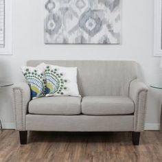 Christopher Knight Home Brookfield Fabric Loveseat by