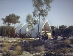 Concrete House on Behance