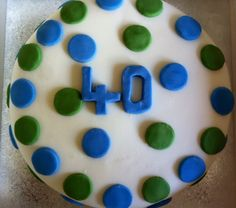 A cake for every occasion and in any flavour. Lemon Drizzle 40th Birthday Cake by Lucy's Sweet Treats