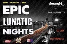 Epic Lunatic Nights @ Guatemala