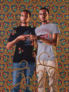 Kehinde Wiley  Portrait of a Couple