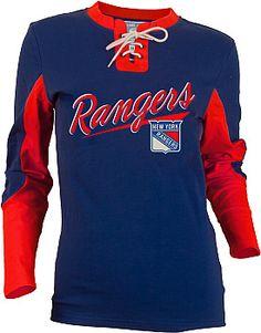 Rangers lace-up jersey T-Shirt