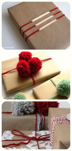Yarn Gift Wrapping