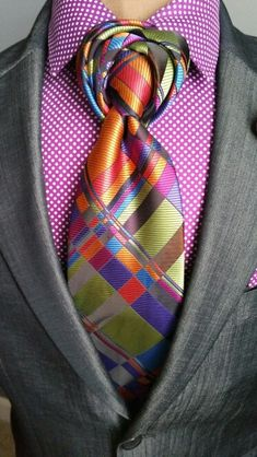The Brockman Necktie - am I the only one who thinks these differently tied ties look utterly ridiculous, tacky and cheesy..?