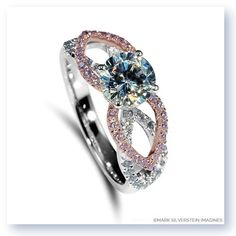 The stunning Tampico engagement ring from Mark Silverstein Imagines http://shop.msimagines.com/product-p/2120-18kwr-wpd.htm