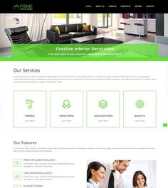 Best multipurpose Free Bootstrap web template. #InteriorDesign #HTML5 #webdesign