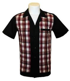 1950s/1960s #rockabilly #,bowling, retro, vintage #men's shirt, 'new' fast delive,  View more on the LINK: http://www.zeppy.io/product/gb/2/272148324440/