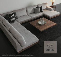 マスターウォール / News / Detail Wooden Sofa Designs, Home Decor Shelves, Decorative Panels, Wabi Sabi, Couches, Wood Art, Woodworking, Living Room, Interior