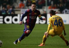 Champions League record a wonderful thing,says Lionel Messi