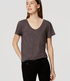 A forever favorite, we designed this soft cotton tee with a can't-resist broken…