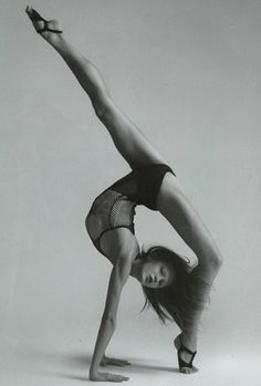 The strenght and flexibility of the human body is incredible.