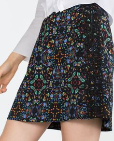PRINTED SKIRT - View all - Woman - NEW IN | ZARA United States