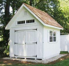 A cute shed or garag