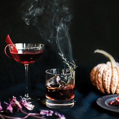 6 #Beautiful #Halloween #Cocktails You'll Actually Want to Drink