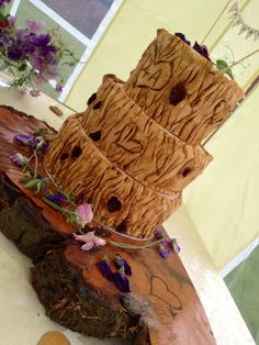 I want this to be my wedding cake! Rustic wedding cake