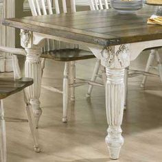 Antique French Dining Table From Full Bloom Cottage Decorating Tables