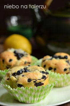 muffinki Breakfast, Desserts, Food, Cakes, Recipes, Kuchen, Morning Coffee, Tailgate Desserts, Deserts