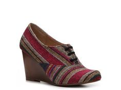 Perfect for Autumn. Chelsea Crew Sari Wedge Oxford Pumps & Heels Women's Shoes - DSW