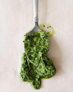pesto Raw Food Recipes, Vegetarian Recipes, Cooking Recipes, Healthy Recipes, Healthy Food, Sauces, How To Make Pesto, Good Food, Yummy Food