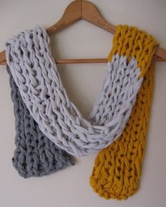 tshirt scarf, @Katy Powers, you should follow this board, she has great ideas for repurposing tshirts!