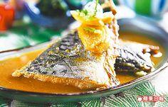 鯖魚味噌燒定食168元 油脂豐富,鹹甘醬汁讓魚肉吃來毫無腥味。