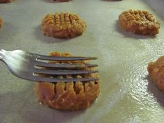 peanut butter cookies....no flour or sugar....for real