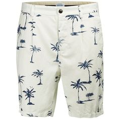 Jack & Jones Regular-Fit Linen Blend Chino Shorts ($69) ❤ liked on Polyvore featuring men's fashion, men's clothing, men's shorts, dad, white, mens chino shorts, mens white shorts, mens leopard print shorts and mens white chino shorts