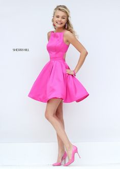 Sherri HIll #50427 Love the style - maybe in Navy. Bridesmaid's dresses