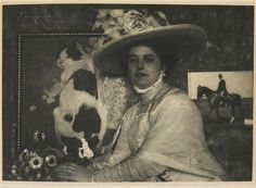 Frank Eugene: Frau Ludwig von Holwein, 1910. Source: Musée d'Orsay, via Réunion des musées nationaux.