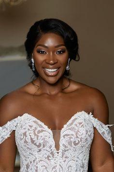 Black Wedding Makeup, Bridal Hair And Makeup, Bride Makeup, Bridal Beauty, Black Brides Hairstyles, Crown Hairstyles, Bride Hairstyles, African American Brides, Hair Vine