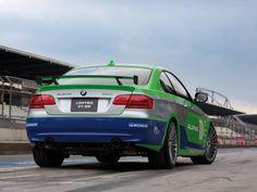 Rear Angle - 2012 Alpina BMW B3 GT3 High Style
