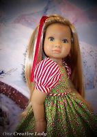 """*CANDY CANES* by OCL for 18"""" KIDZ N CATS DOLLS"""