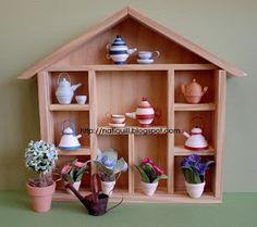 NatiQuill Blog: Casinha com Miniaturas